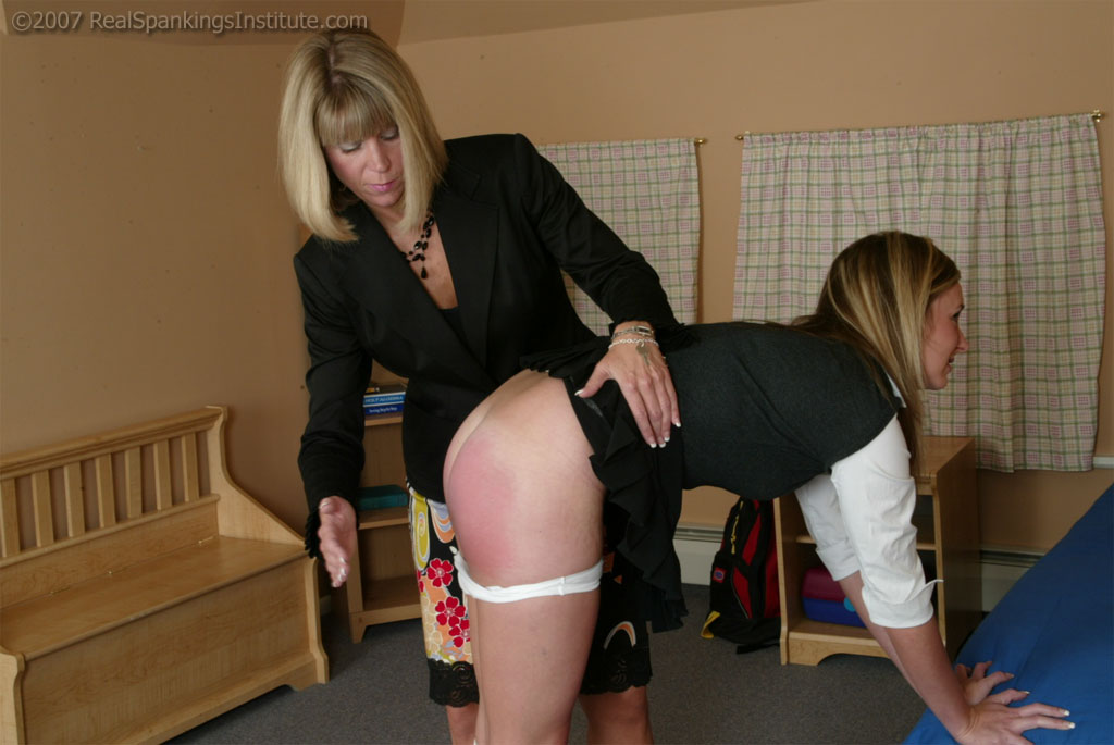 porn spanking bend over
