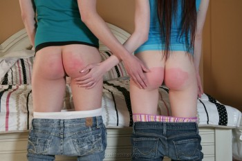 Phrase Bare bottom rubbing after spanking are