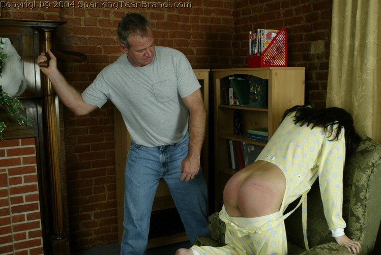 Over the lap erotic spanking