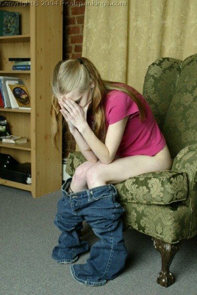 Crying During A Spanking
