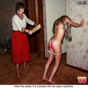 His began filming spanking movies on 8mm back in the 70's.