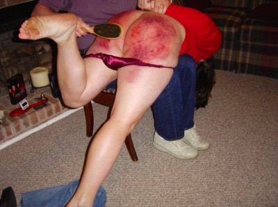 Domestic discipline spank